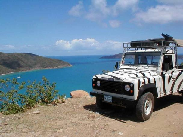 Tortola, BVI Jeep Safari