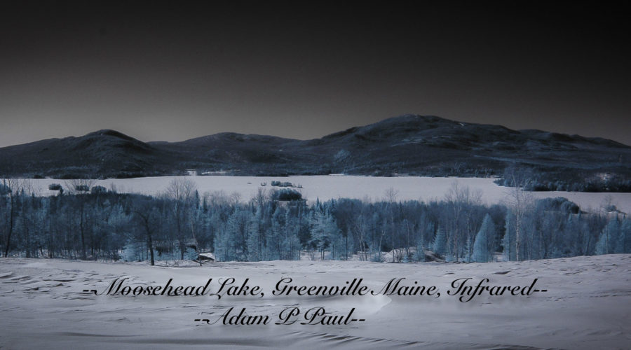 Moosehead Lake in Wintery IR