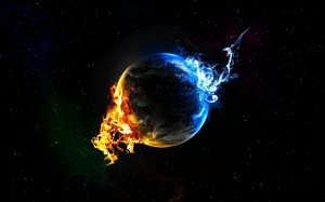 fire-ice sphere
