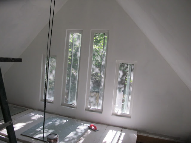 I love these upstairs windows!