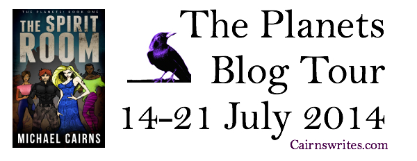The Planets Blog Tour Banner