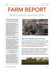 Farm Report on Harvey's Flu