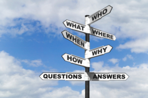 It helps to ask questions before you get lost...